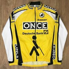 ONCE Castelli rare long sleeve cycling jersey size M