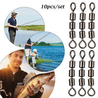 Portable Léger Palier Boucle de pêche sécurisée Raccordement rapide Triple Roll