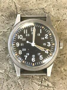 Original 1982 USAF Pilot HAMILTON GG-W-113 Military Ordinance HACKING Watch