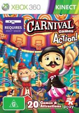 XBOX 360 - CARNIVAL GAMES IN ACTION..KINECT..NEW & SEALED