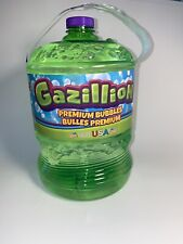 Gazillion 135.2 oz Bubble Solution Liquid Soap Refill Bottle USA Green 4 Liters