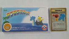 Japanese Misty's Treatment  Lapras CD & Promo Card Mint Pokemon OPENED Box