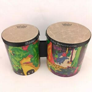 Remo Kid's Percussion Bongos - Music Exploration & Education - Very Good