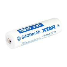 1 x XTAR PROTECTED 18650 3400mAh Rechargeable Battery Li-Ion (PANASONIC Cells)