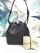 $1900 LOUIS VUITTON Purple Quetsch Epi Leather Noe NM Drawstring Bucket Bag SALE