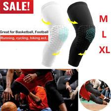 Panal Rodillera pierna baloncesto a prueba de impactos Antideslizante Protector Mangas Largas rf