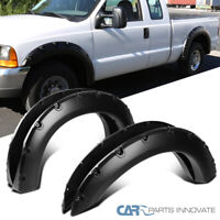 312 Motoring fits 1999-2003 Chevy Chevrolet Silverado Carbon Fiber Wheel Well//Fender Trim MOLDINGS 4PC 2000 2001 2002 99 00 01 02 03 1500 2500 3500