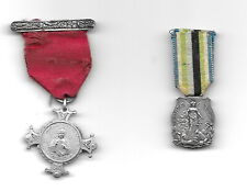 2 OLD ANTIQUE RELIGOUS MEDALS