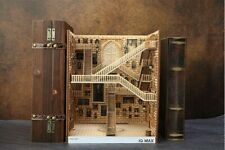 Alley Book Nook - Book Shelf Insert - Bookcase with Light Model Building Kit