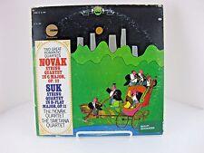 LP Novak & Suk String Quartets Smetana Quartet Crossroads Romantic 22 16 0048