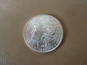 1887 Morgan Silver Dollar - Nice