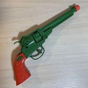 Disney Parks Frontierland TOY Metal Pistol Green & Orange Plastic Handle