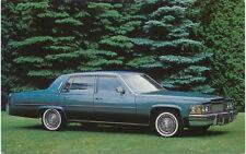 Cadillac Sedan De Ville for 1979 original Postcard