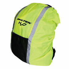 NEW RUCKSACK BACKPACK COVER HI-VIS FLUORO WATERPROOF - BICYCLE BIKE MTB ROAD