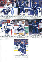 2018-19 Upper Deck Hockey Complete Tampa Bay Lightning Team Set of 13 Cards