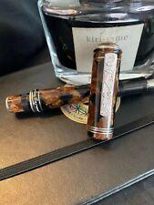Delta Enrico Caruso Limited Edition Silver Fountain Pen
