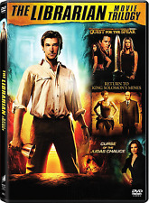 The Librarian: Complete Noah Wyle Series Trilogy 1 2 3 DVD Box Set (288 minutes)