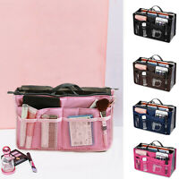 Large Organizer Cosmetic Bag Toiletry Travel Makeup Box Storage Case Container