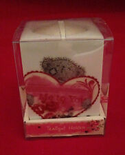 ME TO YOU BEAR TATTY TEDDY CERAMIC HEART TEA LIGHT CANDLE HOLDER GIFT