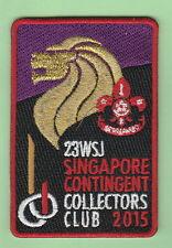 2015 world scout jamboree Japan / SINGAPORE Contingent COLLECTORS CLUB  patch