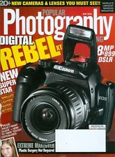 2005 Popular Photography Magazine: Canon Digital Rebel XT EOS/20+ New Cameras