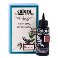 Colora Henna Creme Organic Hair Color 2oz. BURGUNDY
