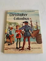 1960 Christopher Columbus by Clara Ingram Judson Hardcover with Dust Jacket