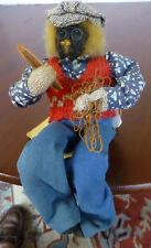 Dried Apple Head Doll-'Sailor-Fisherman' w/original tag from Nova Scotia Canada