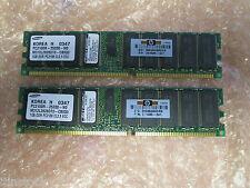 SAMSUNG 2 GB (2 x 1 GB) PC2100-25330-N0 CL2.5 M312L282DT0-CB0Q0 Modulo di memoria