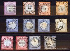 Allemagne Empire 1872 lot timbres FORTE COTE , voir scan haute definition  AB63