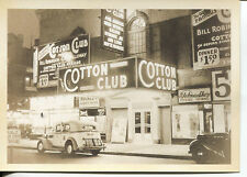 POST CARD OF THE COTTON CLUB IN NEW YORK CITY TAKEN  IN 1930'S CAB CALLOWAY