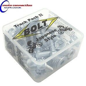 Suzuki DRZ400 DRZ 400 Japanese Track Pack bolts special washers & fasteners kit
