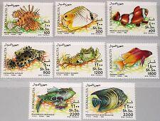 SOMALIA 1994 491-98 Fische Fish Fauna Meerestiere Barsch Korallenfische MNH