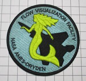 U0SAF AIR FORCE MILITARY PATCH F-15 F15 EAGLE NASA AMES DRYDEN FLOW VIS FACILITY
