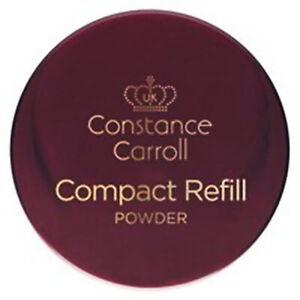 CCUK Constance Carroll Compact Refill, Pressed Face Powder MakeUp - Translucent