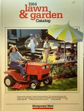 Montgomery Ward 1984 Farm Catalog FULL COLOR Garrden Tractor 124pg MTD Built