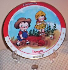 Danbury Mint~Campbell Kid~Tomato Soup 1993 Limited Edition Plate~#C939