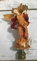Vintage Christmas Angel FINIAL Shade Topper