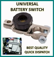 Power Kill Cut Off On/Off Switch Disconnect Car Van Battery Isolator Switches