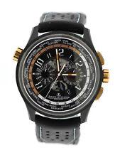 Jaeger LeCoultre Amvox5 World Chronograph 18K Rose Gold/Ceramic Watch Q193L471