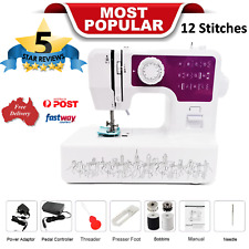 12-Stitches Electric Portable Sewing Machine Multifunction Professional Home Kit