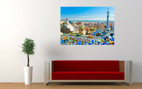 "BARCELONA SPAIN NEW GIANT LARGE ART PRINT POSTER PICTURE WALL 33.1""x23.4"""