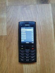 Nokia X Series X2-02 Black Dual Sim(Unlocked) Cellular Phone