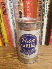 Pabst Blue Ribbon 12oz Flat Top Beer Can  High Grade - Newark NJ