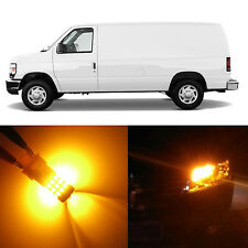 Alla Lighting Turn Signal Light Amber LED Bulbs for Ford E-150 E-250 Super Duty