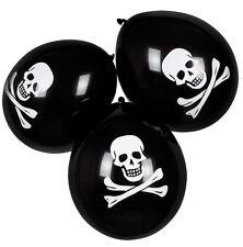 6 Pirates Ballons NEUF - accessoires fête décoration carnaval