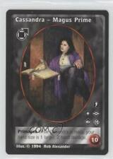 1994 Jyhad (Vampire: The Eternal Struggle) #NoN Cassandra Magus Prime - Card 5m1
