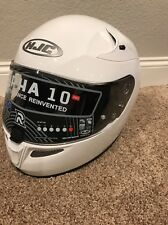 HJC RPHA-10 Pro Solid Motorcycle Helmet White NEW IN BOX Size 2XL