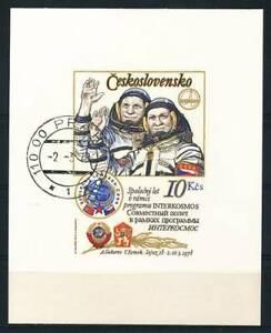187145) Tschechoslowakei Block 39IB gest. Raumfahrt