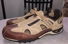Mephisto Mens Allrounder Casual Oxford Sandals Leather Suede Sz 8 Excellent